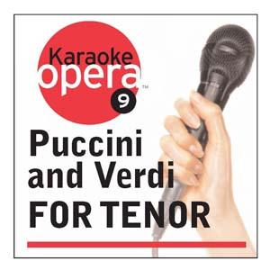 Album Karaoke Opera: Puccini & Verdi for Tenor