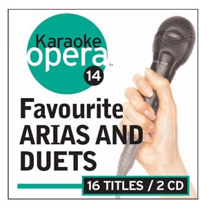 Album Karaoke Opera: 16 Favorite Arias & Duets