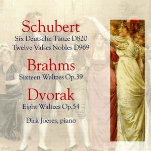 Album Schubert, Brahms and Dvořák: Waltzes and Deutsche Tanze