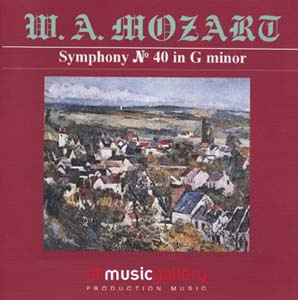 Album W.A.Mozart - Symphony No.40 in G minor, Concerto for Piano and Orchestra No.20 in D minor