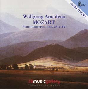Album W.A.Mozart - Piano Concertos Nos. 23 & 27