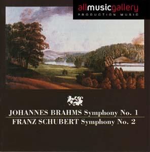 Album J.Brahms, F.Schubert