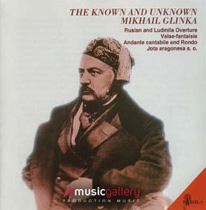Album The Know and Unknown M.Glinka