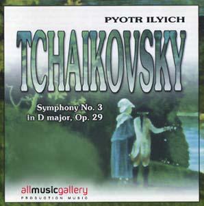 Album P.I.Tchaikovsky - Symphony No.3 in D major, Op.29