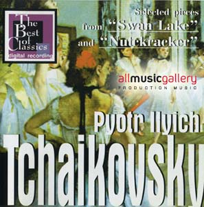 """Album P.I.Tchaikovsky - Selected pieces from """"Swan Lake and """"Nutckracker"""""""