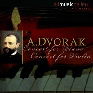 Album A.Dvorak Concert for Piano, Concert for Violin
