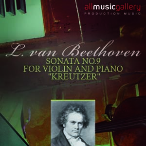 """Album L.van Beethoven Sonata No.9 for Violin and Piano """"Kreutzer"""""""