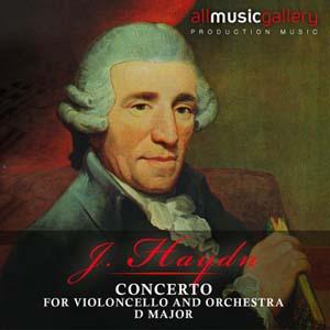 Album J.Haydn, Concerto for v.cello and Orchestra, D major