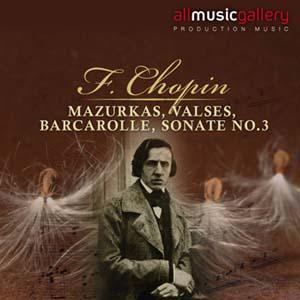 Album F.Chopin, Mazurkas, Valses, Barcarolle, Sonate No.3