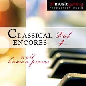 Album Classical Encores (well known pieces) Vol.4