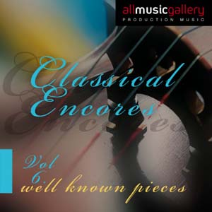 Album Classical Encores (well known pieces) Vol.6