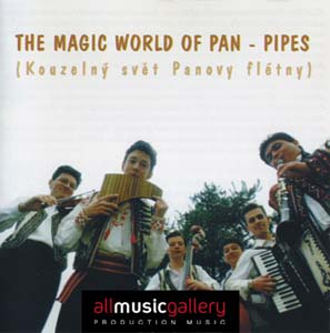 Album The Magic World of Pan- Pipes