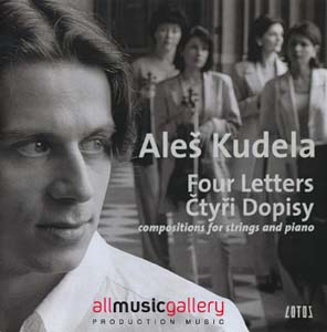 Album Four Letters, composition for strings and piano