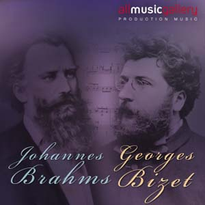 Album J.Brahms, G.Bizet
