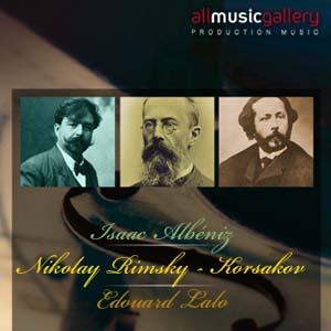 Album I.Albéniz, N.Rimsky - Korsakov, E.Lalo