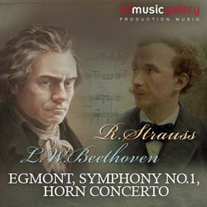 Album L.van Beethoven, R.Strauss