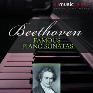 Album Famous piano sonatas, L.van Beethoven
