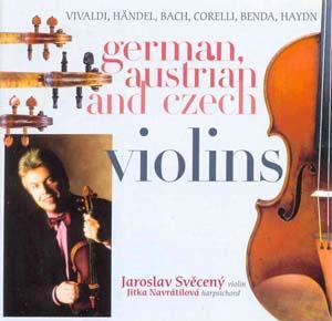 Album German, Austrian and Czech Violins