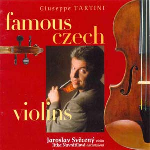 Album G.Tartini Famous Czech Violins