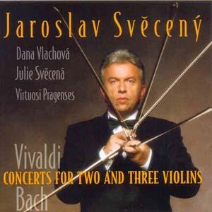 Album Vivaldi - Concerts for 2 a 3 violins, Bach