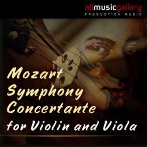 Album Mozart Symphony Concertante for Violin and Viola