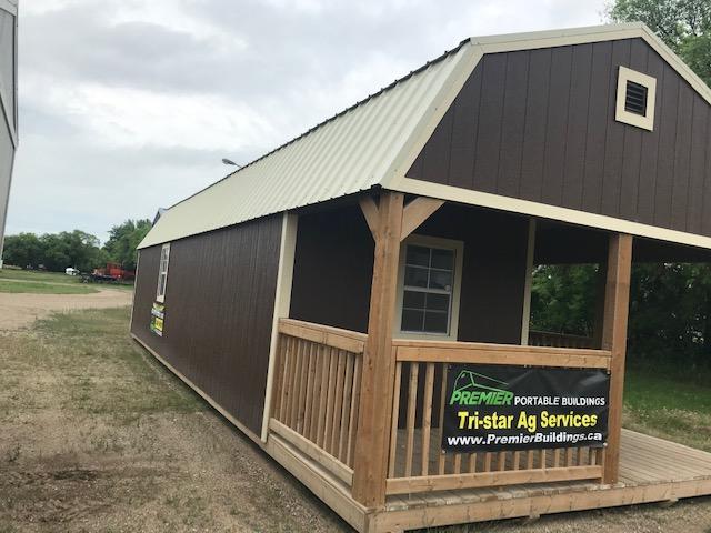 Urethane Premier Lofted Barn Cabin