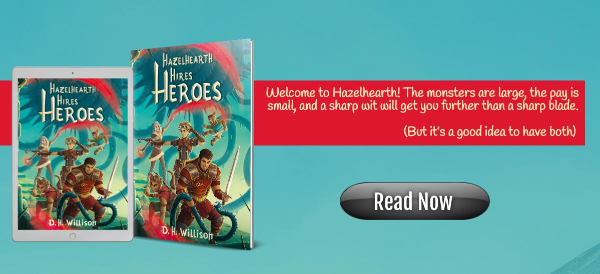 Hazelhearth Hires Heroes tablet