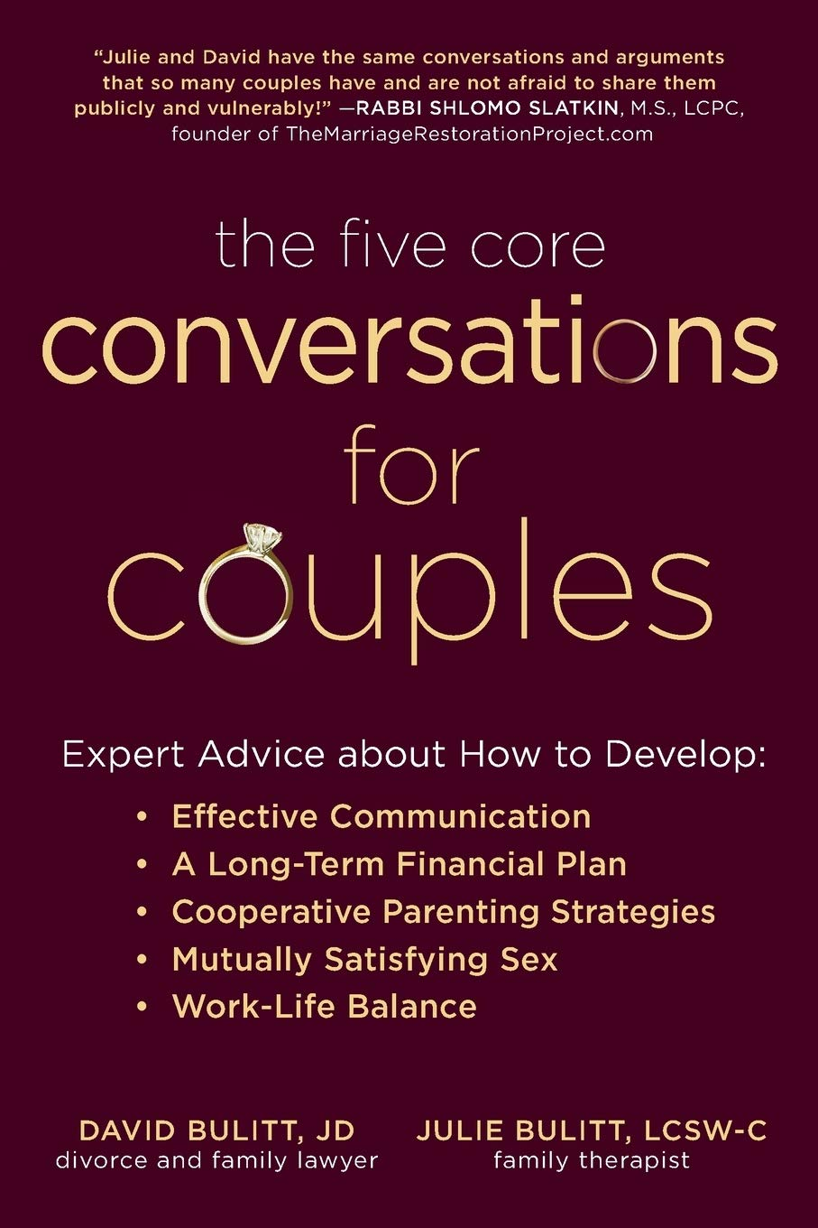 The Five Core Conversations for Couples cover