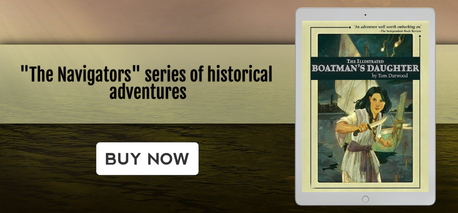 The Illustrated Boatman's Daughter tablet