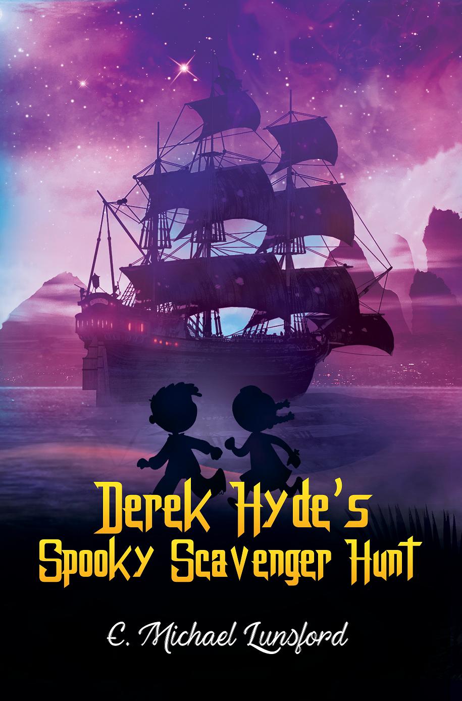 Derek Hyde's Spooky Scavenger Hunt cover