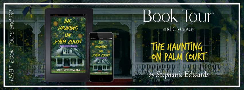 The Haunting on Palm Court banner