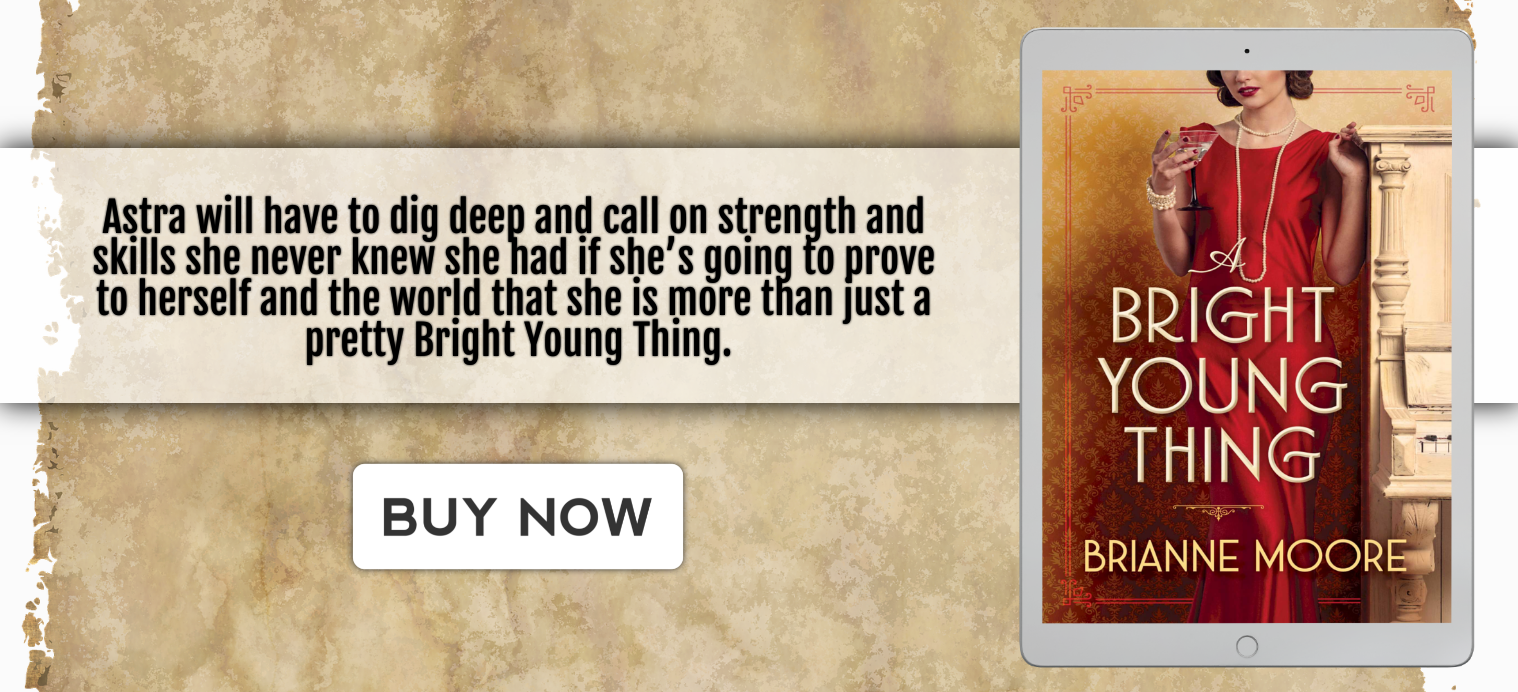 A Bright Young Thing tablet