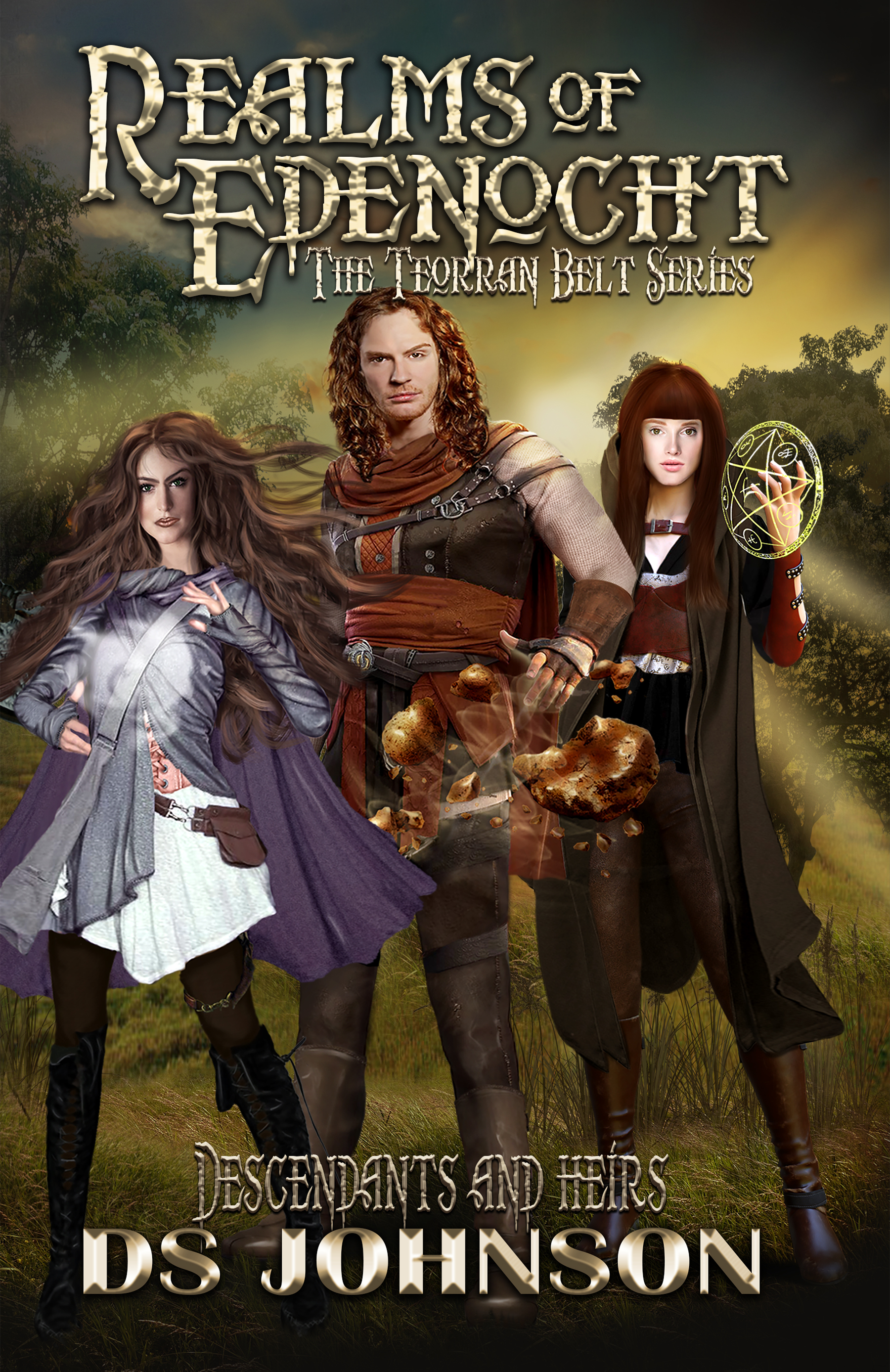 Realms of Edenocht: Descendants and Heirs covers