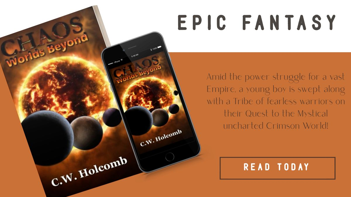Chaos: Worlds Beyond paperback,  mobile