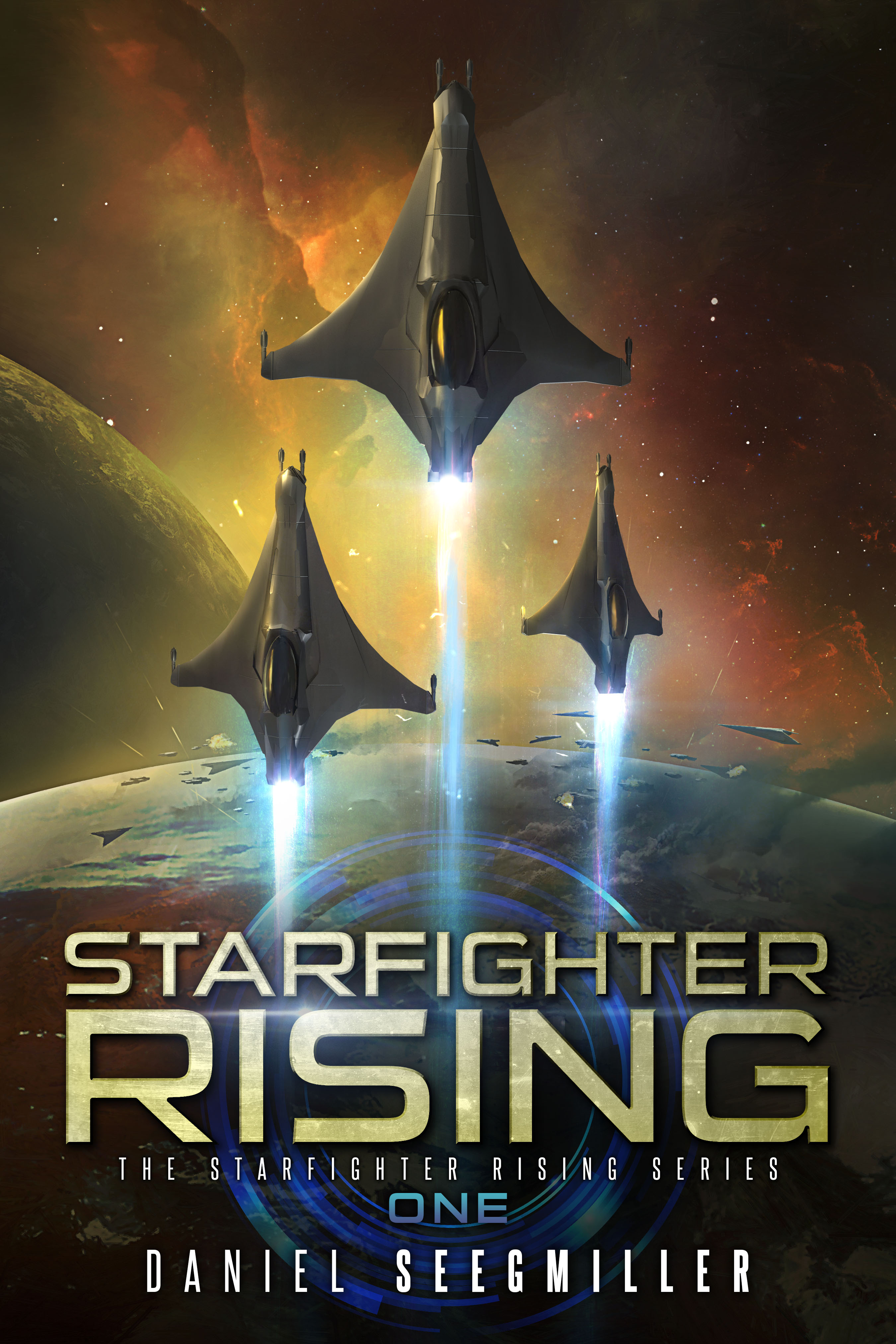 Materials: Starfighter Rising cover