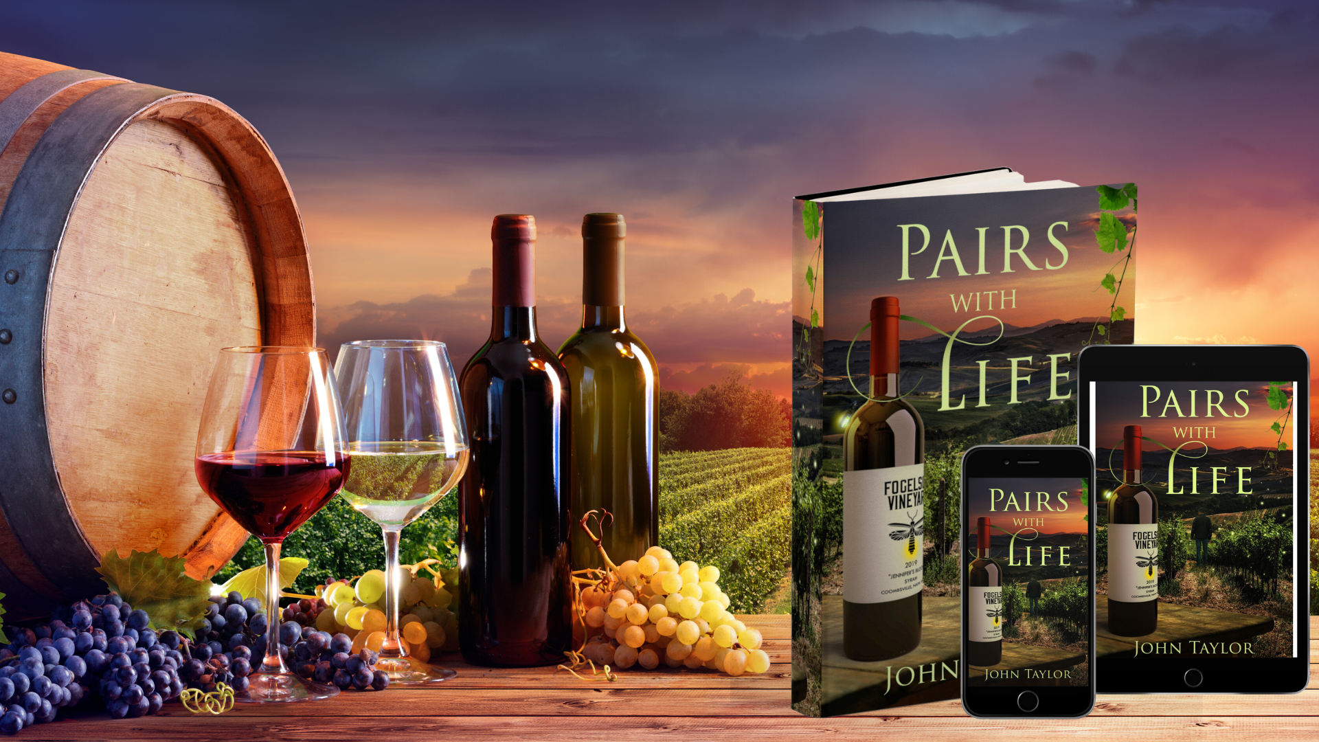 Pairs With Life paperback, tablet, phone