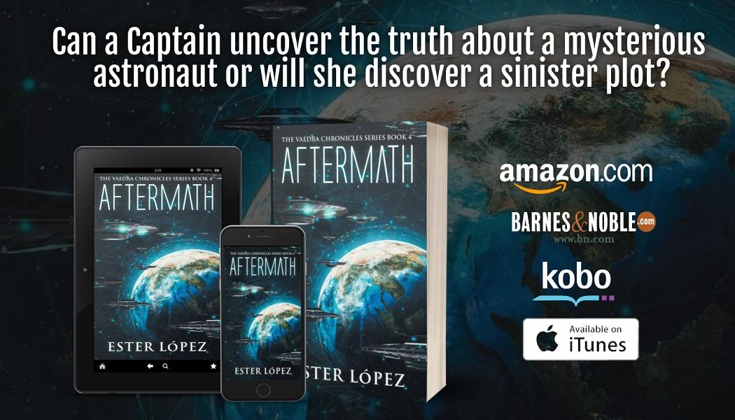 Aftermath tablet, phone, paperback