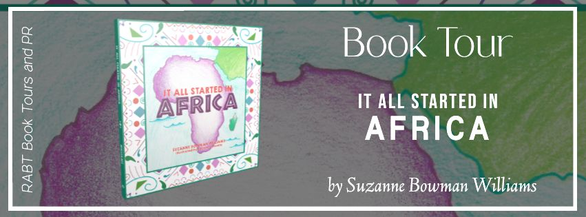 It All Started in Africa by Suzanne Bowman Williams - book tour