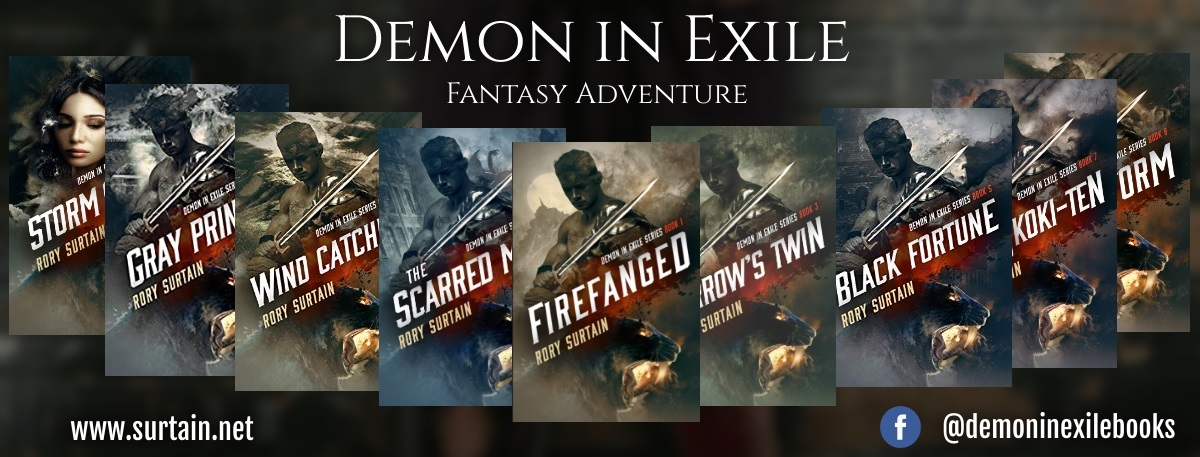 Demon in Exile Series banner