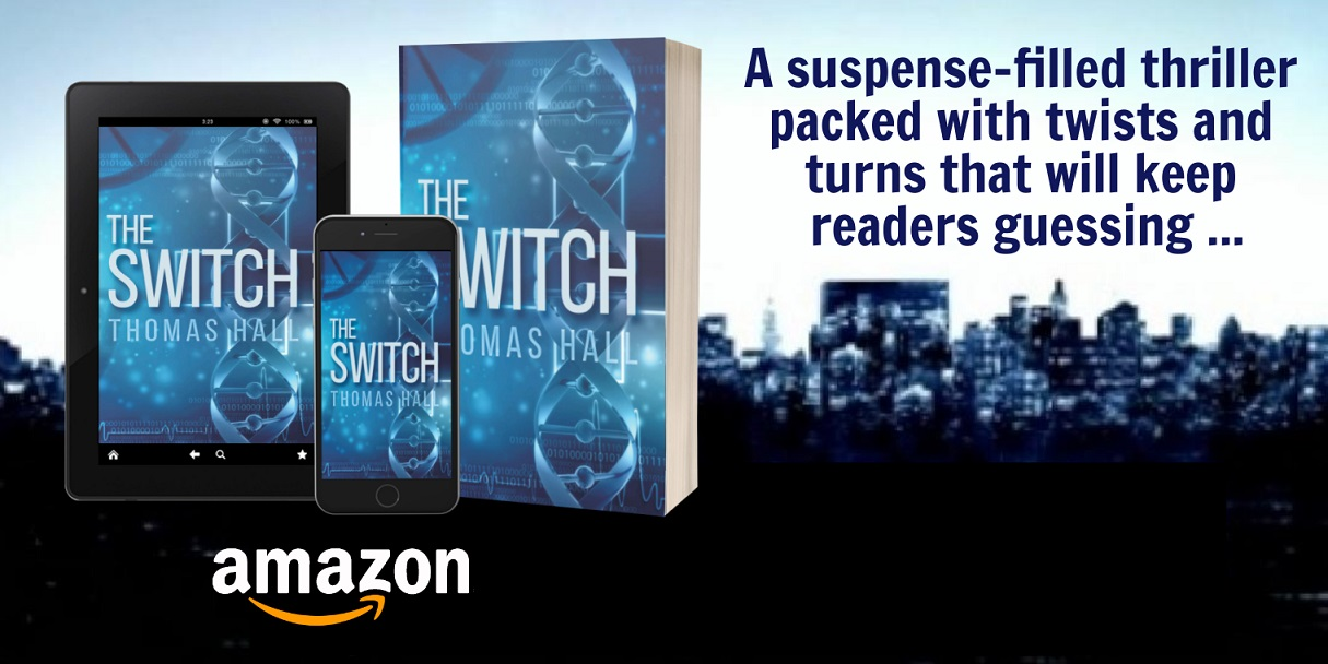 The Switch tablet, phone, paperback