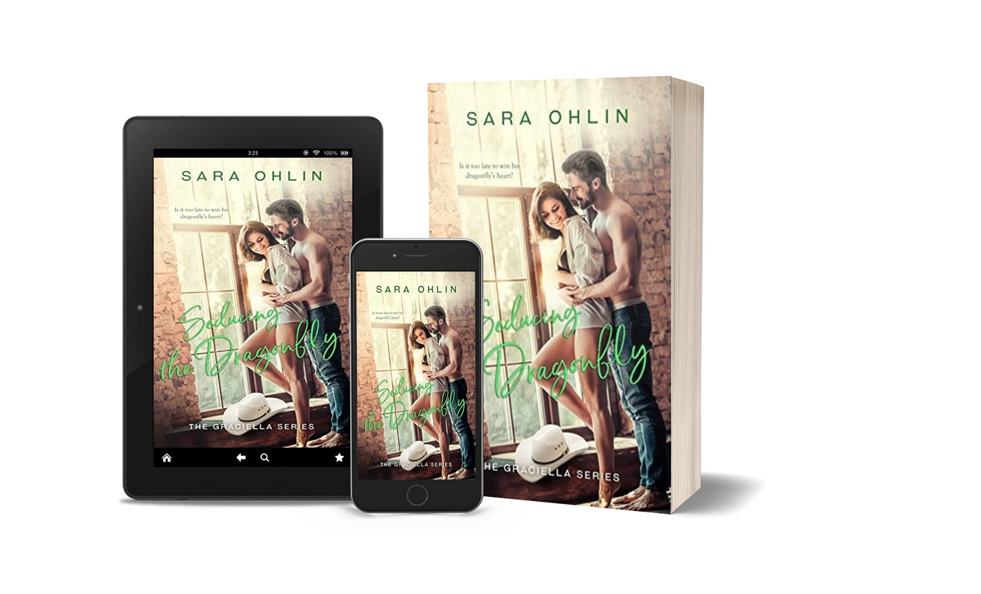 Seducing the Dragonfly tablet, phone, paperback