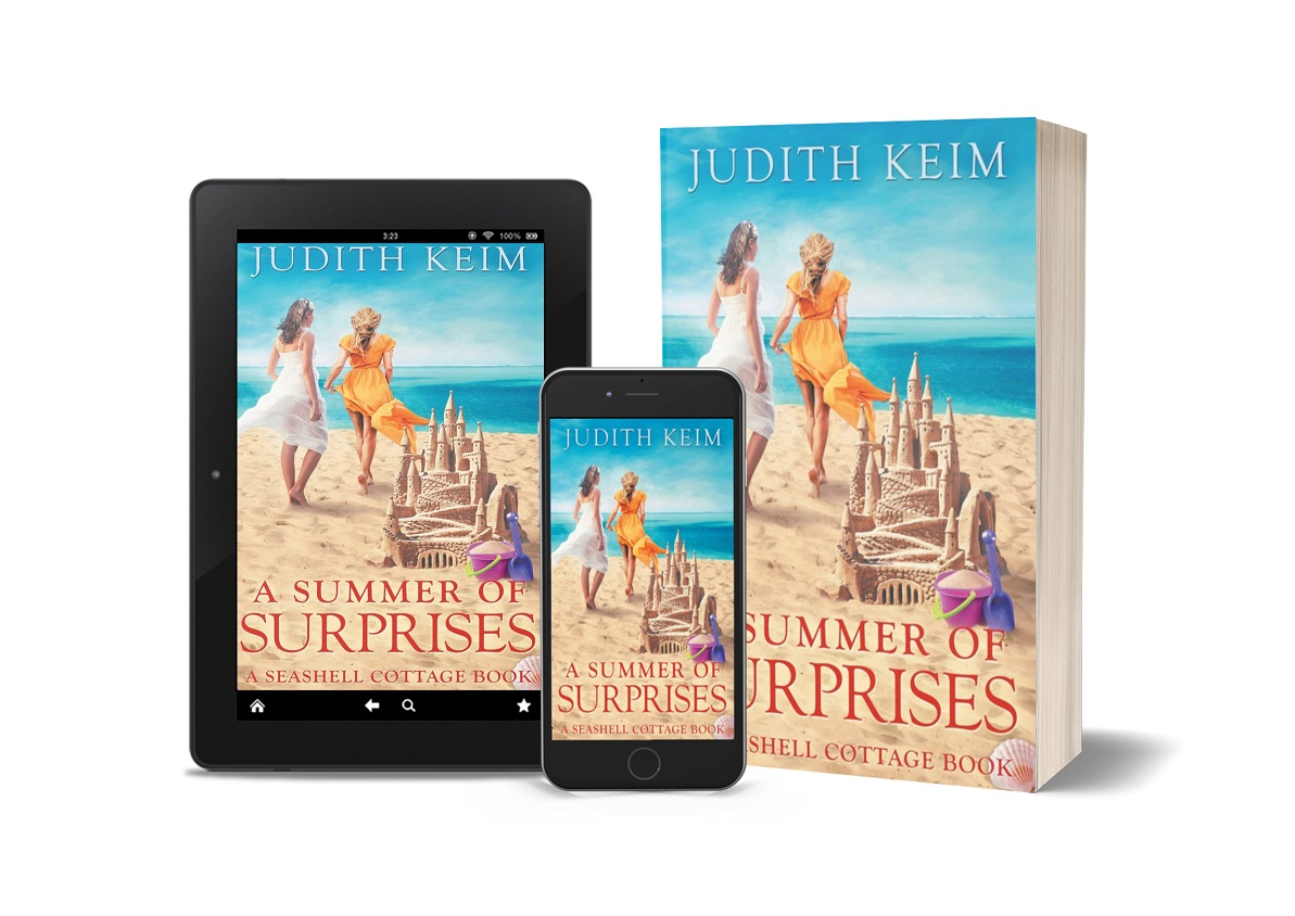 A Summer of Surprises phone, tablet, paperback