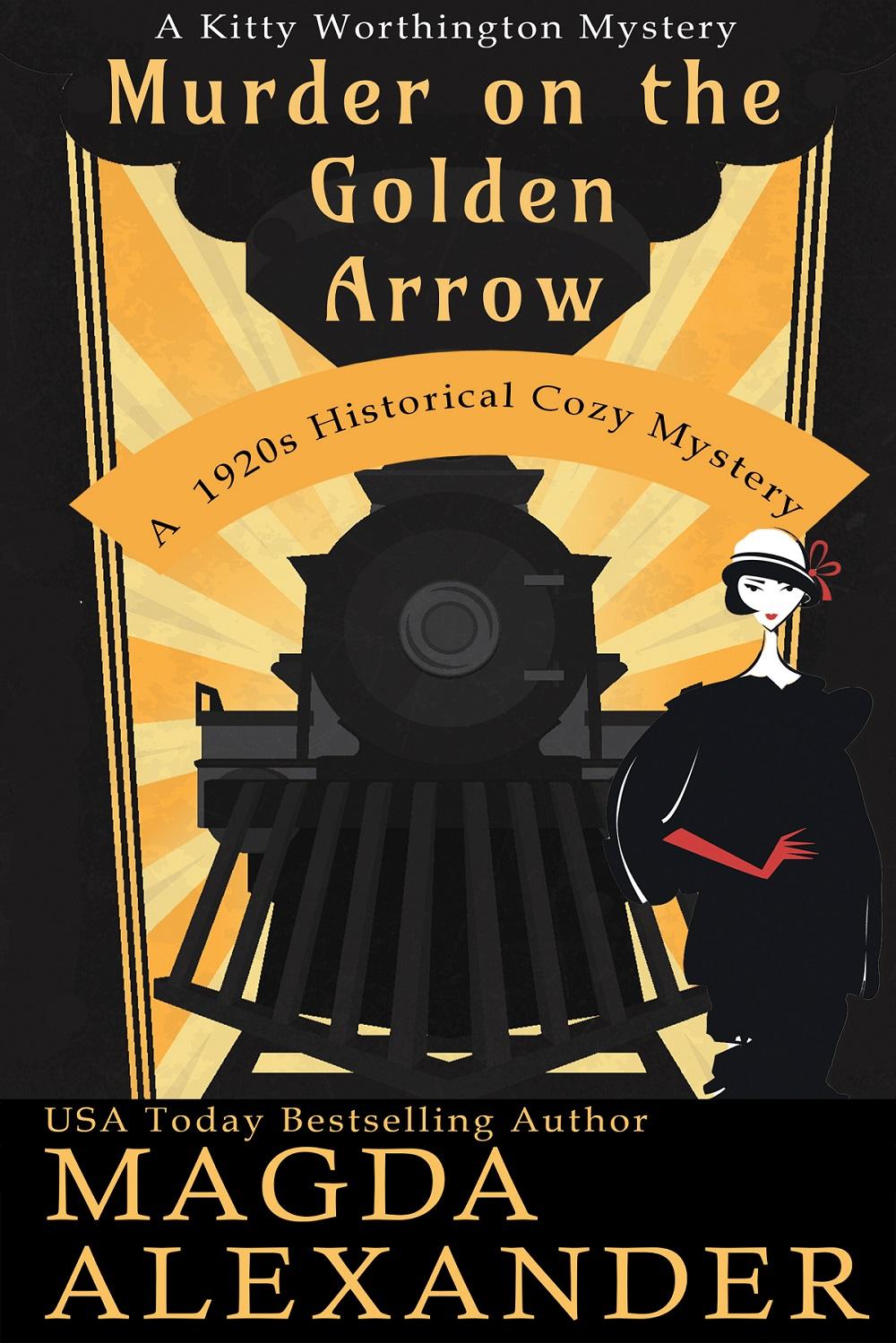 Murder on the Golden Arrow cover