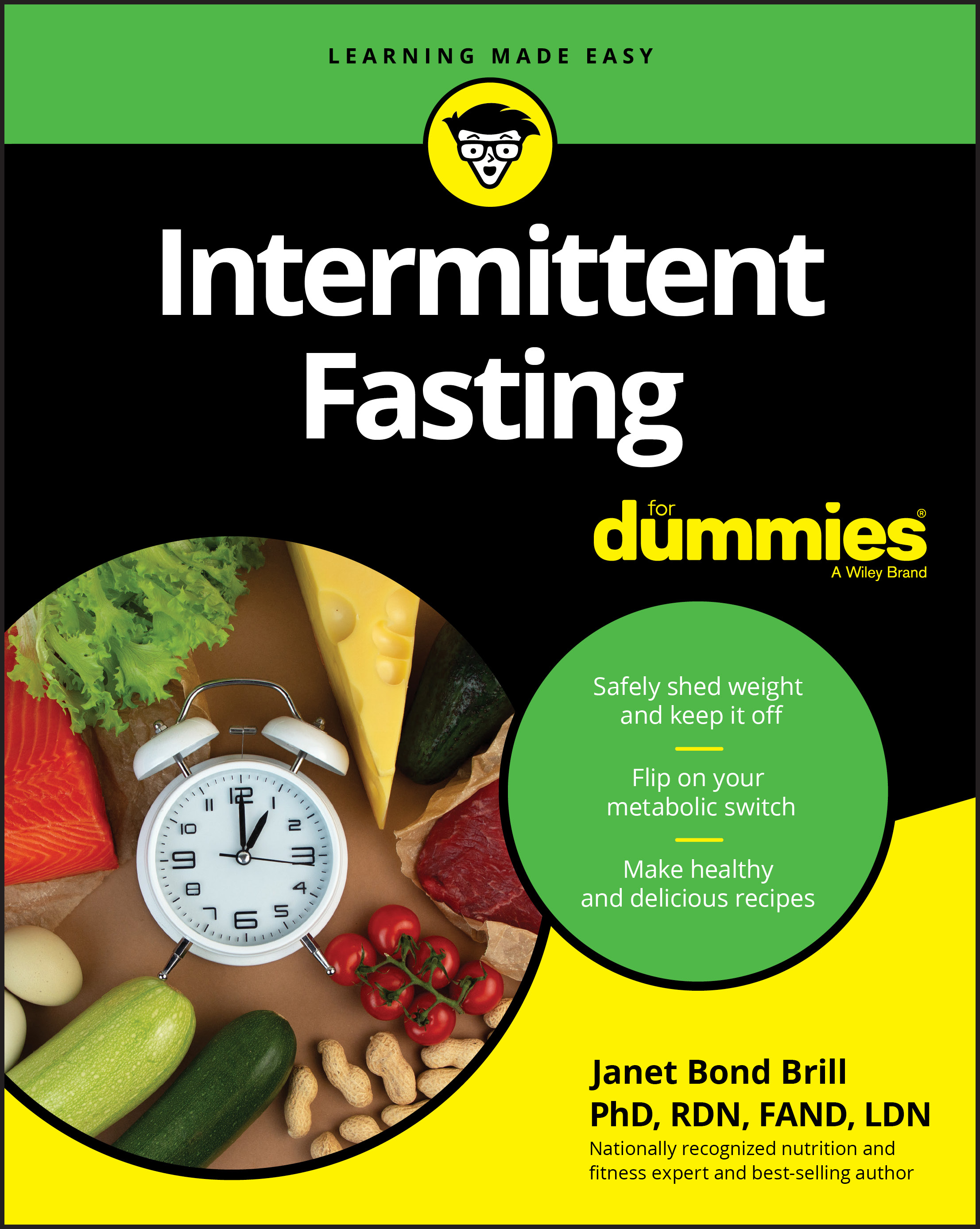 Intermittent Fasting for Dummies cover