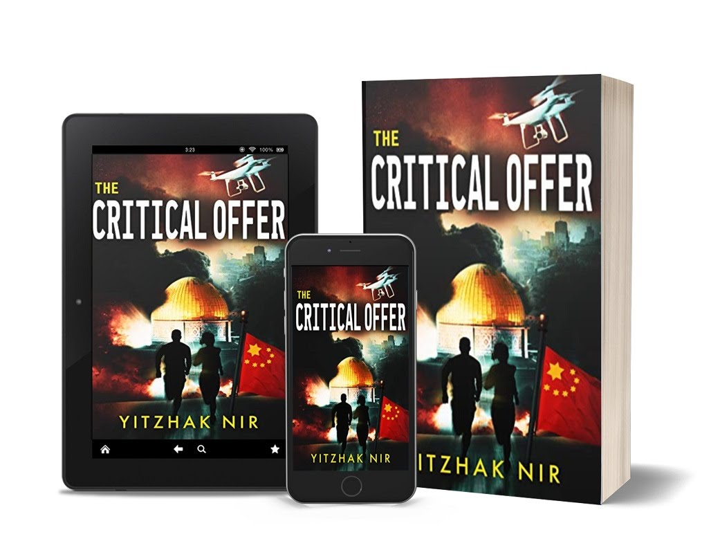 The Critical Offer cover, tablet, , paperback