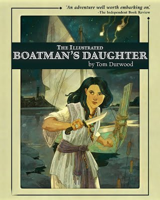 The Illustrated Boatman's Daughter cover