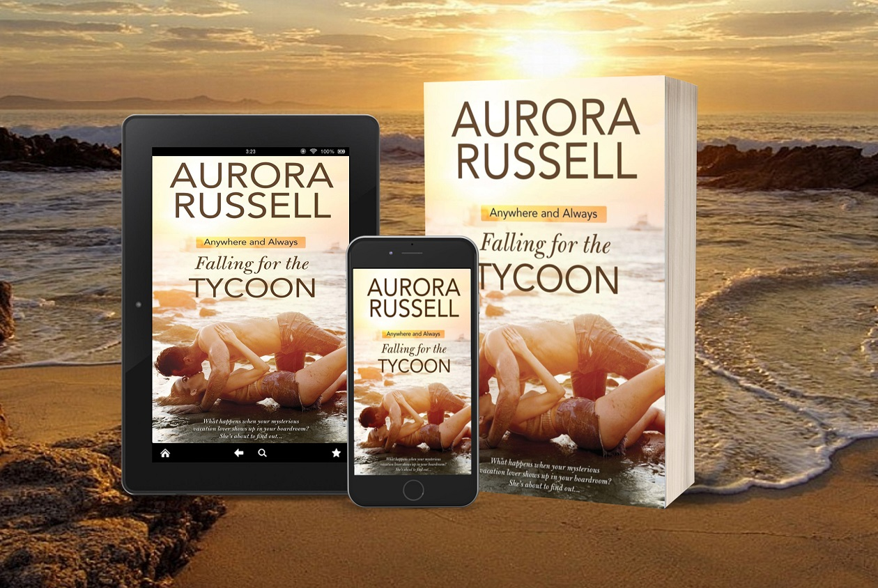 Falling for the Tycoon tablet, phone, paperback