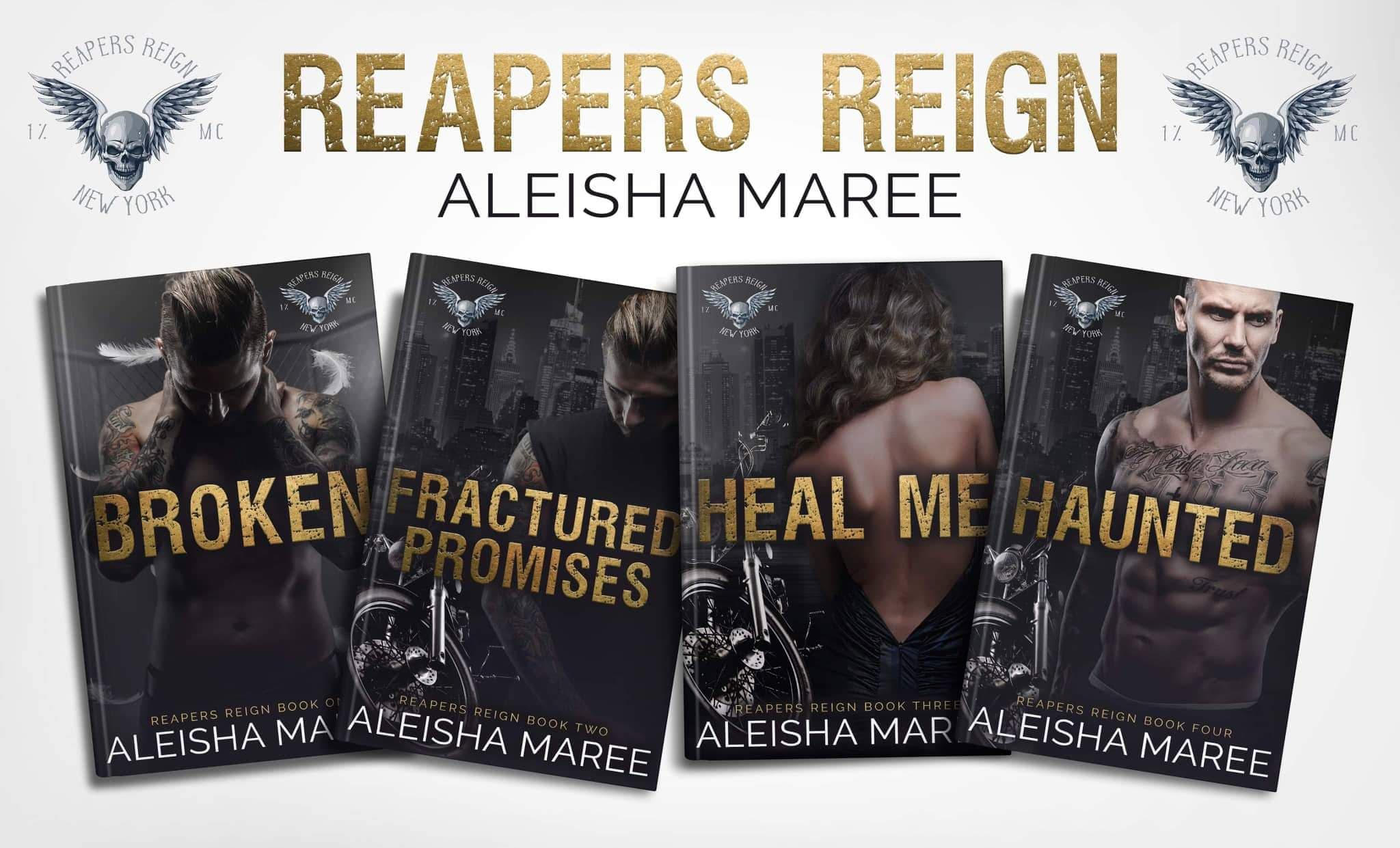 Reapers Reign series banner