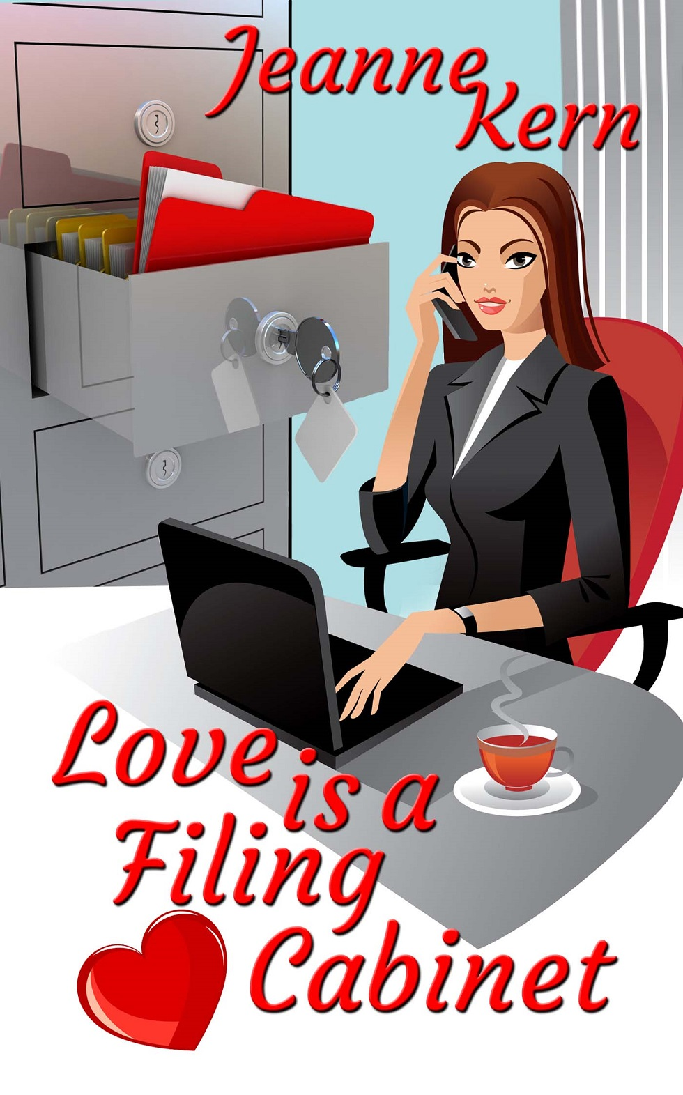 Love is a Filing Cabinet cover