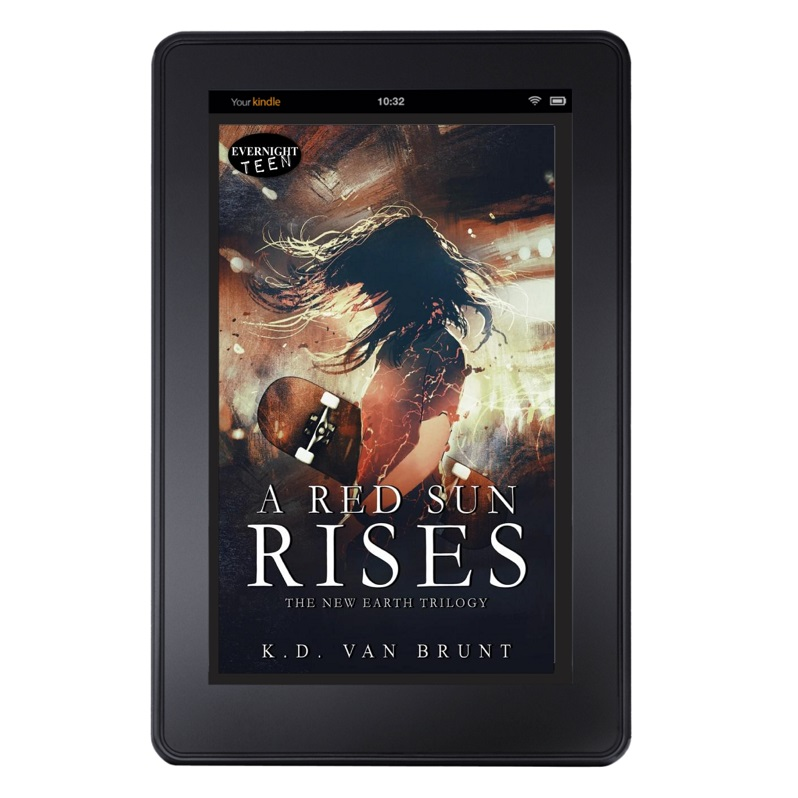 A Red Sun Rises tablet